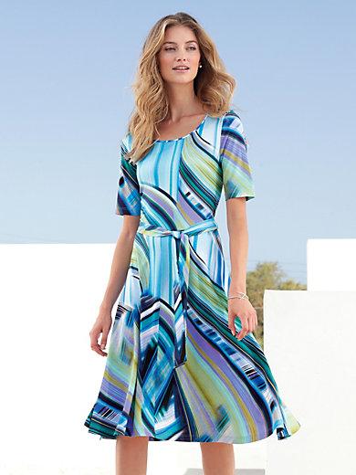 Peter Hahn - Jersey-Kleid mit langem 1/2-Arm