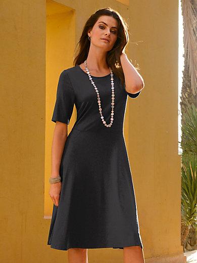 Peter Hahn - Jersey-Kleid zum Schlupfen mit längerem 1/2-Arm