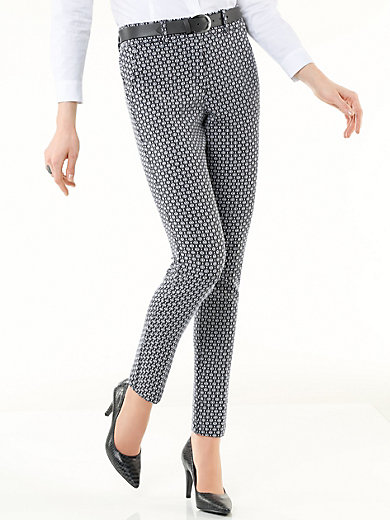 Peter Hahn - Jersey pull-on trousers