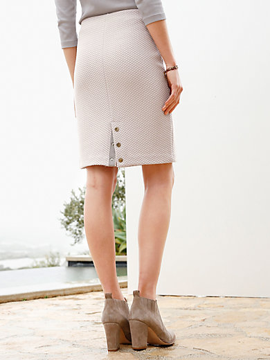 Peter Hahn - Jersey skirt in slip-on style