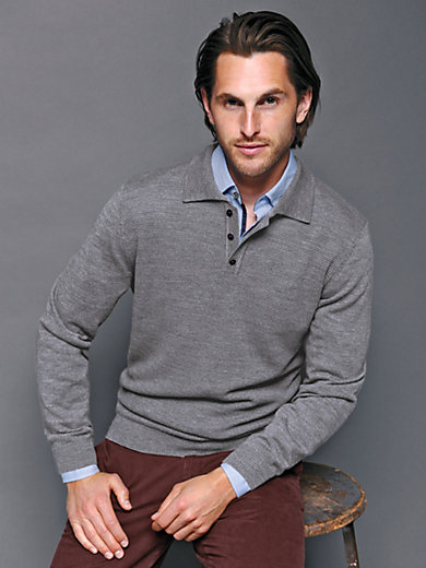Peter Hahn - Jumper in 100% new milled wool