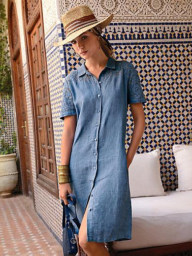 Peter Hahn - Kleid aus 100% Leinen mit 1/2-Arm