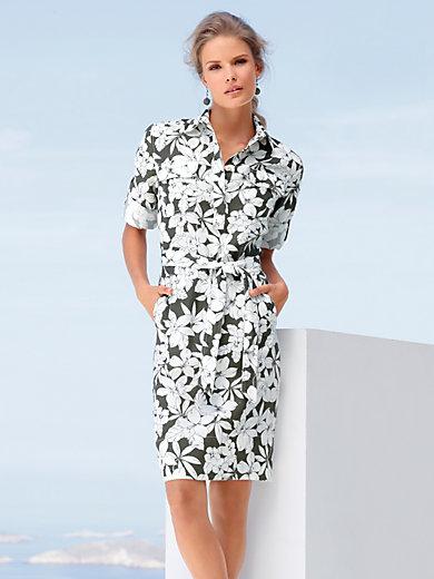 Peter Hahn - Kleid aus 100% Leinen mit 3/4-Arm