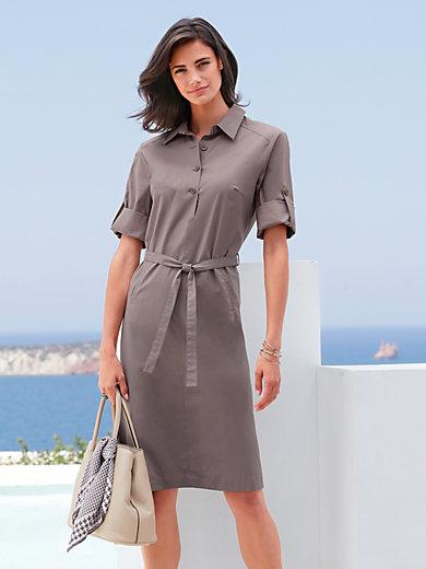 Peter Hahn - Kleid mit Hemdkragen
