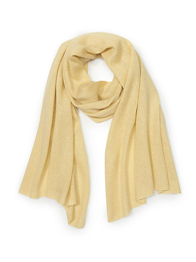 Peter Hahn - Knitted scarf in silk and cashmere