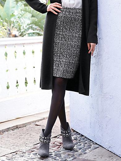 Peter Hahn - La jupe crayon en laine vierge mérinos