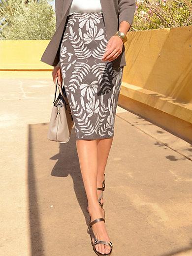 Peter Hahn - La jupe imprimée en maille jersey, ligne droite