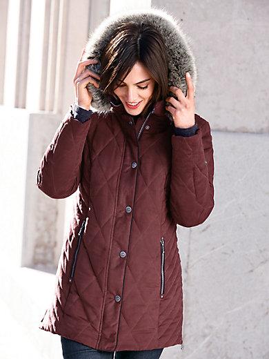 Peter Hahn - La longue veste matelassée, capuche amovible