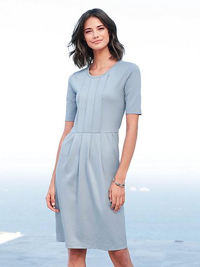 f349bd51d7c7e Peter Hahn - La robe en jersey - bleu tourterelle