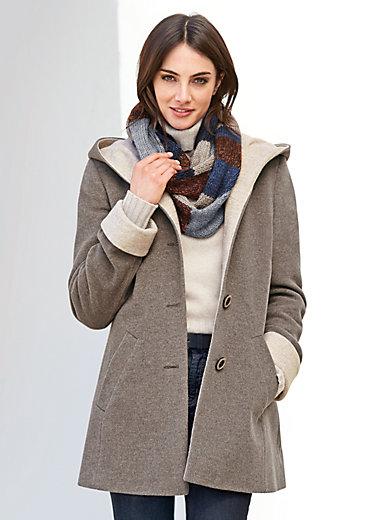 Peter Hahn - La veste doublée en pure laine vierge