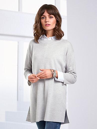 Peter Hahn - Lange trui van 100% scheerwol