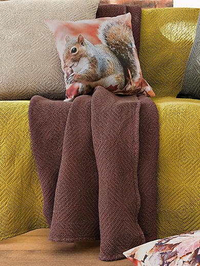 Peter Hahn - Le jeté pour fauteuil et lit simple env. 160x190cm