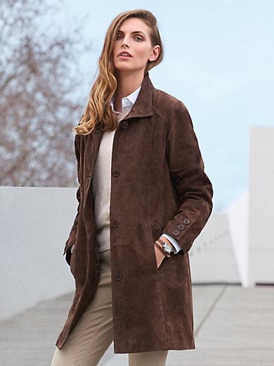 Peter Hahn - Le manteau en cuir