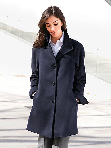 Peter Hahn - Le manteau en fils naturels, col plat