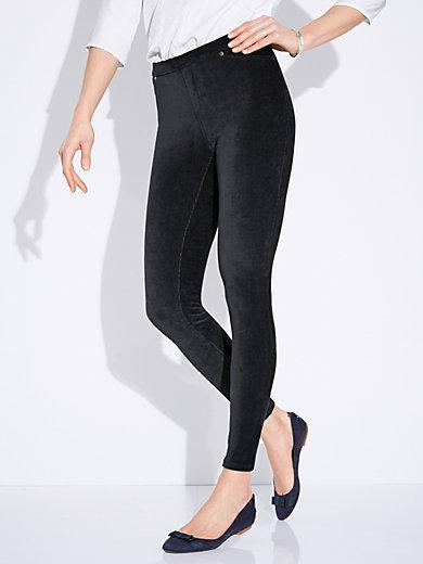 Peter Hahn - Le pantalon taille élastiquée coupe Sylvia