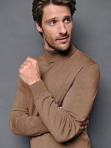 Peter Hahn - Le pull col roulé en laine vierge, modèle Jochen
