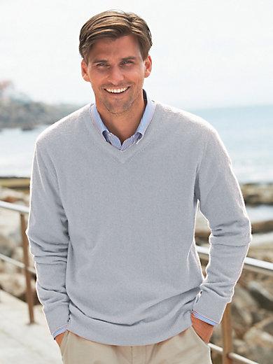Peter Hahn - Le pull col V en pur cachemire, modèle VALENTIN