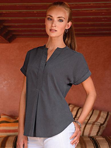 Peter Hahn - Le T-shirt-chemisier manches courtes