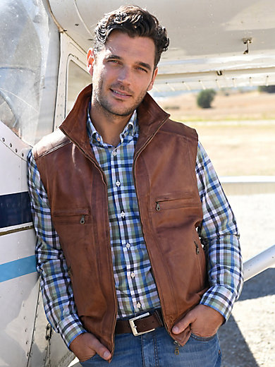 Peter Hahn - Leather gilet