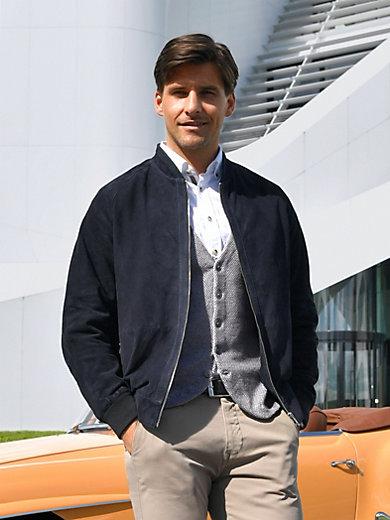 Peter Hahn - Lederjacke aus 100% Leder im Blouson-Stil