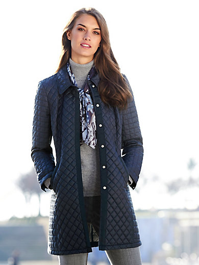 Peter Hahn - Long quilted jacket