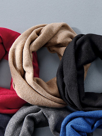 Peter Hahn - Loop scarf in 100% cashmere
