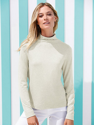 Peter Hahn - Plain top with long sleeves