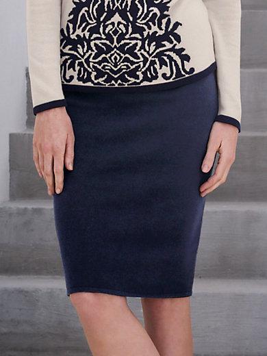 Peter Hahn - Pull-on knitted skirt