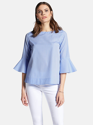 Peter Hahn - Pull-on top with 3/4-length sleeves