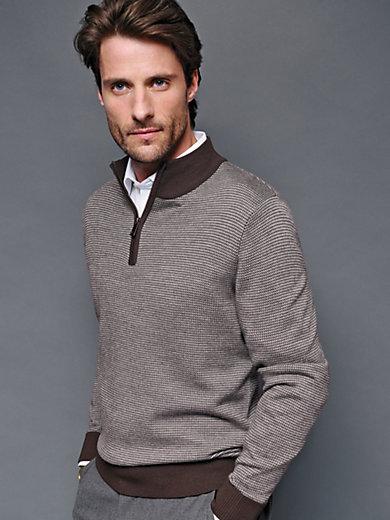Peter Hahn - Pullover mit Stehbund-Kragen