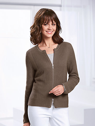 Peter Hahn - Ribbed cardigan