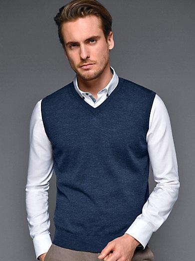 Rolf pullunder in 100% new milled wool–merino