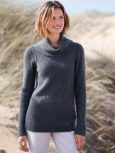 Peter Hahn - Rollkragen-Pullover aus Kaschmir und Seide