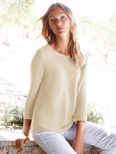 Peter Hahn - Round neck jumper in 100% SUPIMA® cotton