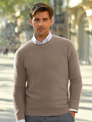Peter Hahn - Rundhals-Pullover aus 100% Kaschmir