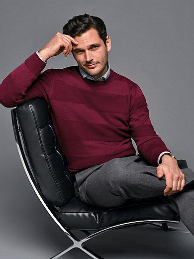 Peter Hahn - Rundhals-Pullover aus 100% Schurwolle von FILIVIVI