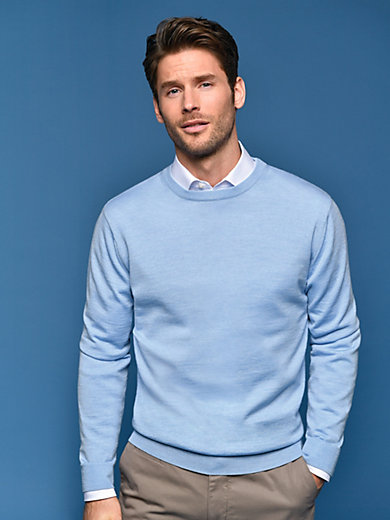 Peter Hahn - Rundhals-Pullover Modell CLEMENT