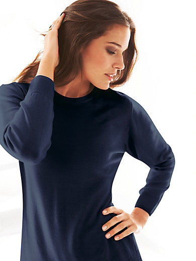 Peter Hahn - Rundhals-Pullover – Modell Gisela
