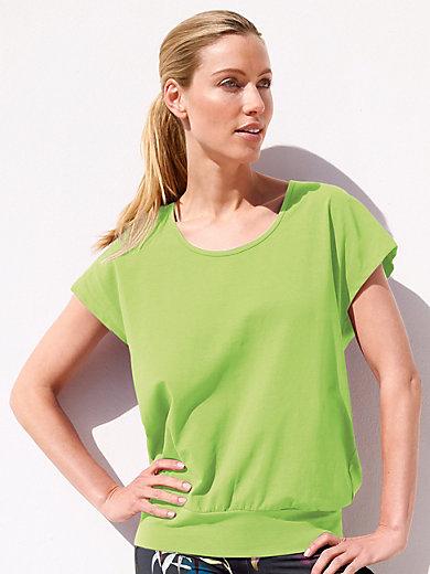 Peter Hahn - Rundhals-Shirt mit überschnittener Schulter
