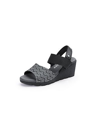 Peter Hahn - Sandale mit Keilabsatz