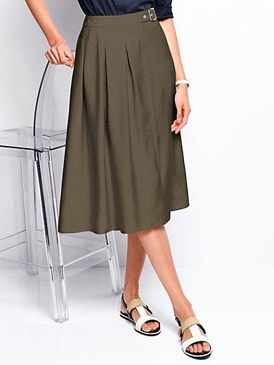 Peter Hahn - Skirt with flared hem