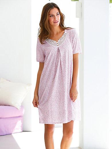 Peter Hahn - Sleep-shirt med korte ærmer