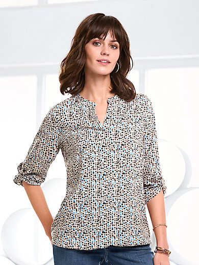 Peter Hahn - Slip-on tunic with 3/4-length sleeves