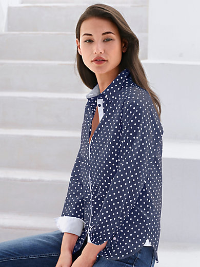 Peter Hahn - Spotted blouse