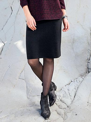 Peter Hahn - Strickrock aus 100% Schurwolle von BIELLA YARN