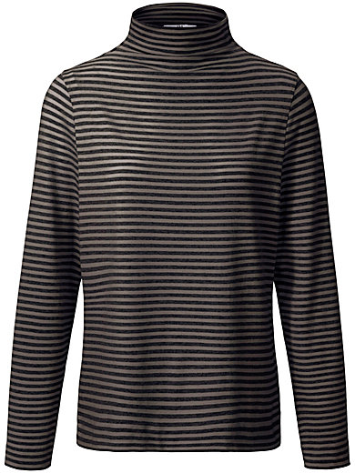 Peter Hahn - Striped top with long sleeves