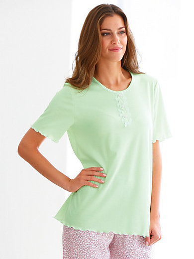 Peter Hahn - Top with 1/4-length sleeves