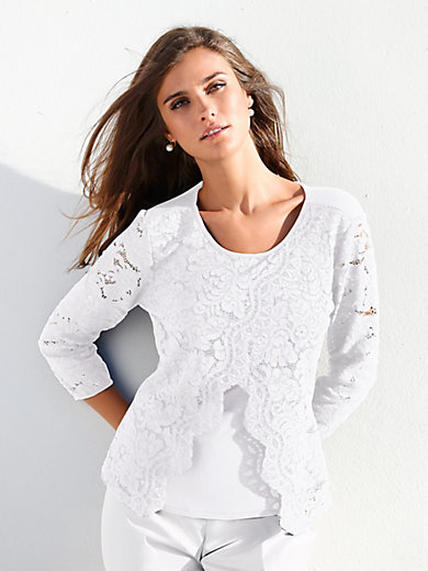 Peter Hahn - Tunic with 3/4-length sleeves