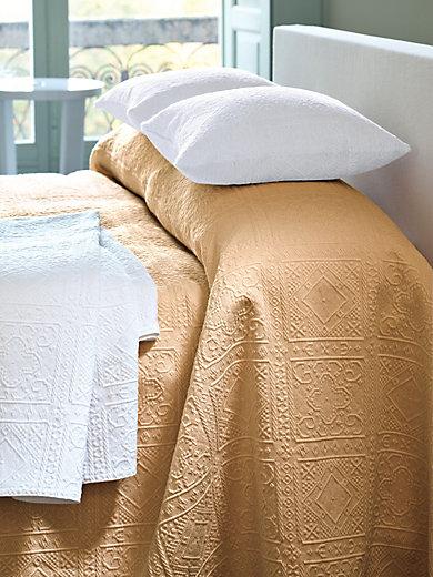peter hahn berwurf f r sofa und bett ca 160x270cm sand. Black Bedroom Furniture Sets. Home Design Ideas