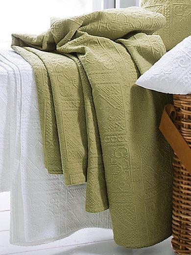 peter hahn berwurf f r sofa und bett ca 270x250cm pistazie. Black Bedroom Furniture Sets. Home Design Ideas